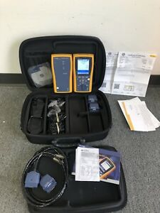 Fluke Dtx 1800 Cable Tester Smart Remote W Soft Case Accessories 2015 Cal