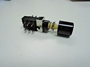 S k Dpdt Right Angle Pc Mount Maintained Push Button Switch Qty 2