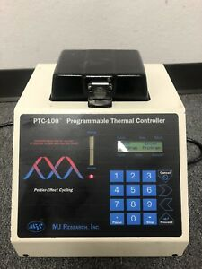 Mj Research Ptc 100 Programmable Thermal Controller Thermal Cycler 96 well
