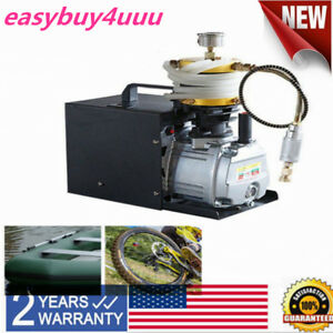 4500psi High Pressure Electric Pump Pcp Air Compressor W Explosion proof Valve