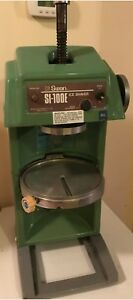 Swan Ice Shaver Si 100e Shaved Ice Machine Commercial Works Great