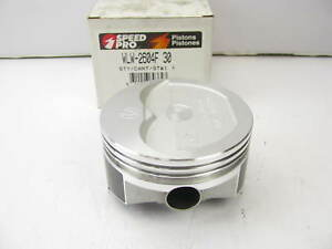 Speed Pro Wlw 2604f 30 Performance Piston 030 Over Chevy Small Block 355 383