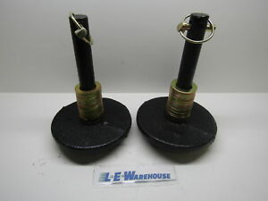 Pair Heavy Duty Plow Shoe Assembly Center Shoe Replaces Boss Msc01570 Msc01501