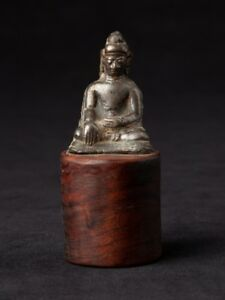 12 14th Century Very Early Bronze Arakan Buddha Statue From Burma