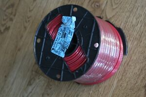Copper Encore Wire 106100802440 12awg Thhn thwn 2 Wire 500ft Red New