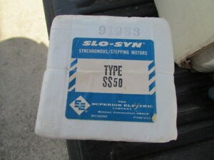 New Superior Electric Slo syn Driving Motor Ss50 Nos