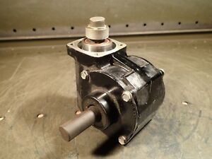 Bodine 40 1 Gear Reducer 5 8 Output Shaft Great For Dividing Head Build Used