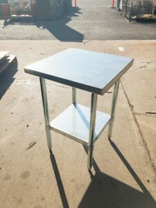 Select Stainless 24 X 24 Commercial Stainless Steel Table nsf ul Pl 2kdwt 24 g