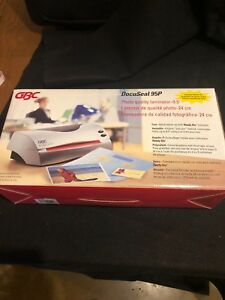 New gbc Docuseal 95 Home office 9 Document Laminating Machine With Starter Kit