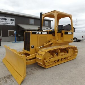 1988 John Deere 550g Lt Dozer Nice Shape New Bottom