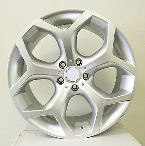 Bmw X5 M Style 20x9 5 20x10 5 5x120 Hyper Silver Wheels set Of 4 Fit E70 X5