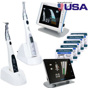 Dental 16 1 Endodontic Endo Motor Cordless Handpiece Apex Locator super Files