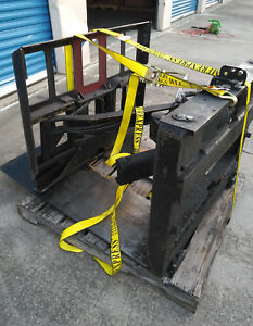 Jegs Push Pull Forklift Attachment Missing Spec Plate