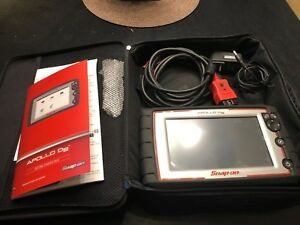 Snap On Apollo D8 Eesc333 18 4 Version Diagnostic Scan Tool
