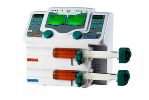 Double Chennel Syringe Pump Infusion Pump With Large Lcd Screen