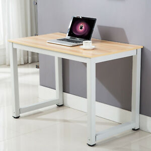 Computer Desk Pc Wooden Home Office Desk Laptop Table Writing Workstation