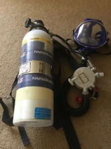 Survivair Xl 30 Air pack Scba With Case Fire Rescue Firefigher