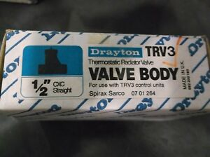Drayton Trv3 1 2 Cxc Straight Thermostatic Radiator Valve Body
