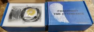 New In Box Realand Tf 17 Fingerprint Time Recorder J