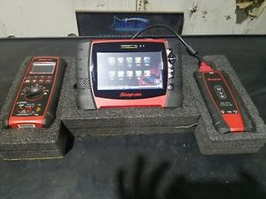 Snap On Verdict Diagnostic Scan Tool And Scope Test Meter System 18 2