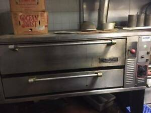 Garland Single Deck Pizza Oven Natural Gas