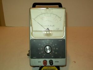 Heathkit Im 21 Vtvm Ac Volmeter Restored Tested And Calibrated