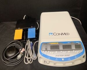 Conmed 5000 Generator With Footswitches Power Cord Biomed Certified