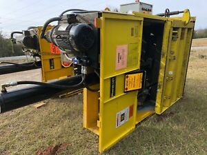 Gpi M60std Harmony 60 Vertical 10 Hp Cardboard Compactor Recycling Yellow Baler