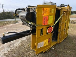 Gpi M60std Harmony 60 Vertical Cardboard 10 Hp Compactor Recycling Yellow Baler