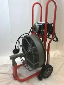 Ridgid K 750 se Drum Machine Kit With Auto Feed For Drain sewer Lines