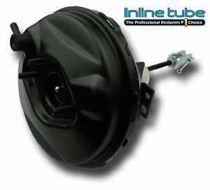 64 72 Gm A f x Body 9 Black Out Power Brake Booster Hot Rod Street Disc Drum