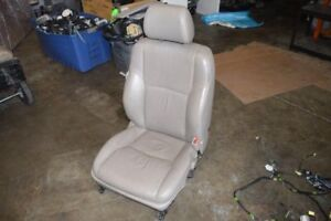 2003 Toyota 4runner Right Passenger Front Seat Tan Leather With Airbag Power