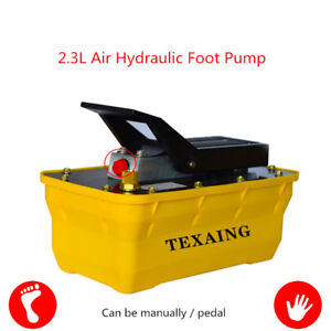2 3l Girder Correction Pneumatic Hydraulic Foot Pump Air driven Hydraulic Pump Y