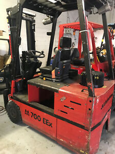 Sichlschmidt Electric Forklift Lift Truck Eex Rated Explosion Proof