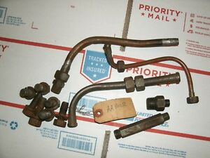 John Deere 1934 1935 Unstyled Model A Nos Oil Line And Used Governor Parts