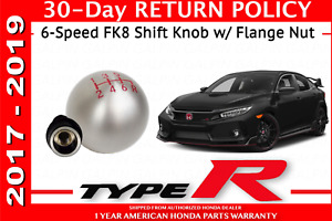 New Genuine Honda Fk8 Civic 2017 2018 2019 Type r 6 Speed Shift Knob With Nut