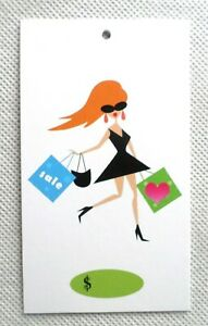500 Price Tags Accessories Tags Cute Girl Clothing Tags Hang Tags no Loops