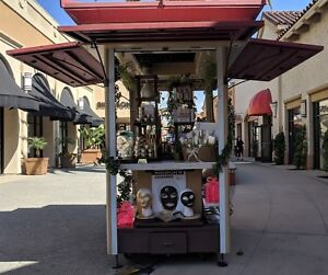Retail Commercial Plaza Store Mall Kiosk Shopping Stand Convention Showcase Cart