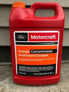4 Gallons Motorcraft Orange Concentrated Antifreeze Coolant Vc 3 b