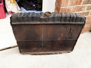 1970 Boss 302 Radiator Original Used Condition 70 Ford Mustang