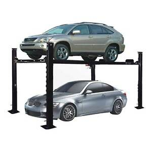 Xk Pp 8s 8000 Lb 4 Post Heavy Duty Portable Storage Car Lift Auto Hoist Movable