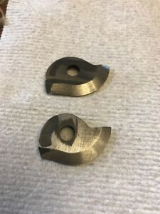 2 Nos Armstrong Hss Threading Tool Insert Cutters 51 Sharp V Profile