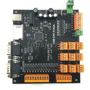 9 Axis Cnc Controller Kit 100khz Usb Stepper Motor Controller Breakout Board Kit