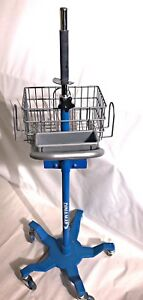 Dinamap Rolling Patient Monitor Vital Signs Cart Stand Mobile Mount Pro 300