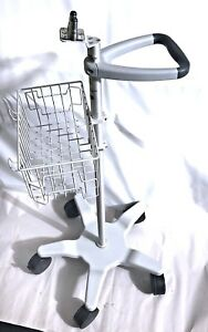 Philips Intellivue Patient Monitor Polymount Gcx Rolling Cart Stand Mobile Mp5