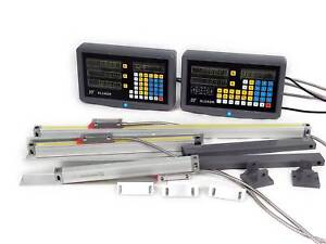 2 3 Axis Digital Readout Linear Glass Scale Ttl Dro Display Kit Milling Lathe