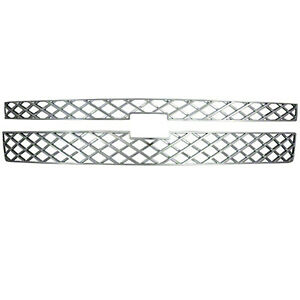 2011 2013 Chevy Silverado 2500 Hd Chrome Grille Grill Overlay Insert Kit