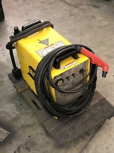 Esab Pcm 875 Plasma Cutter W New Torch And Accessories 220v