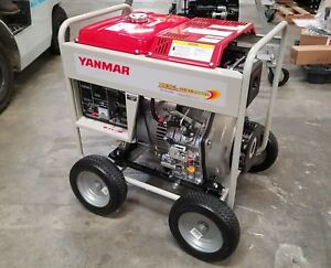 Yanmar 6kw Diesel Generator With Wheel Kit