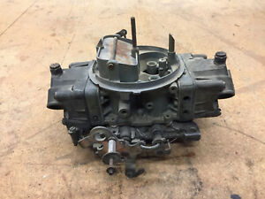 Holley Four Barrel Carburetor List 4776 1 600cfm Double Pumper